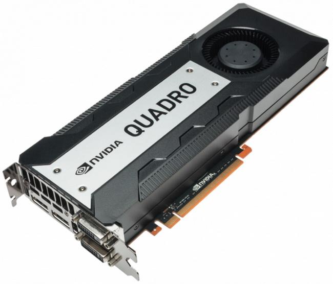 NVIDIA QUADRO K6000 ახალი თაობის ვიდეო დაფები.